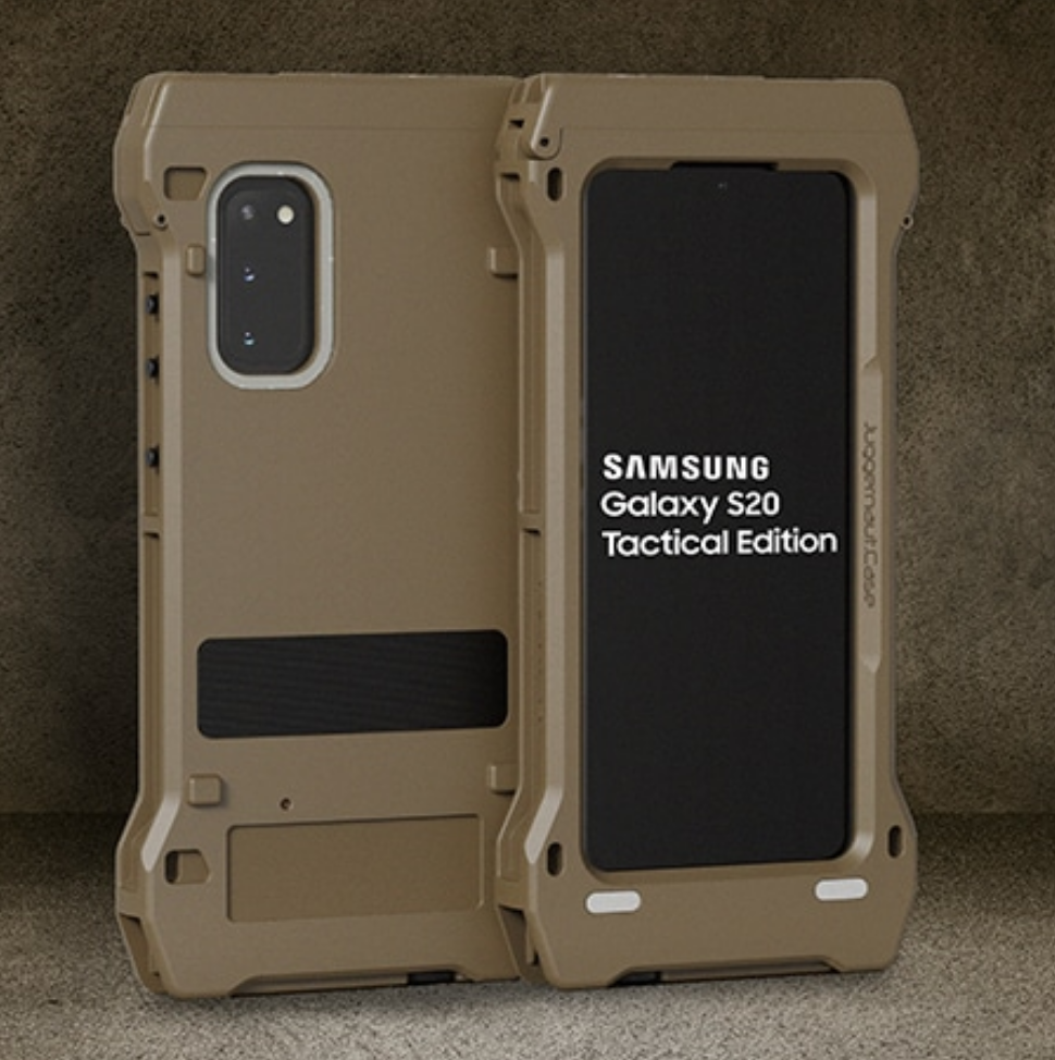 Samsung announces Galaxy S20 Tactical Edition for defense customers