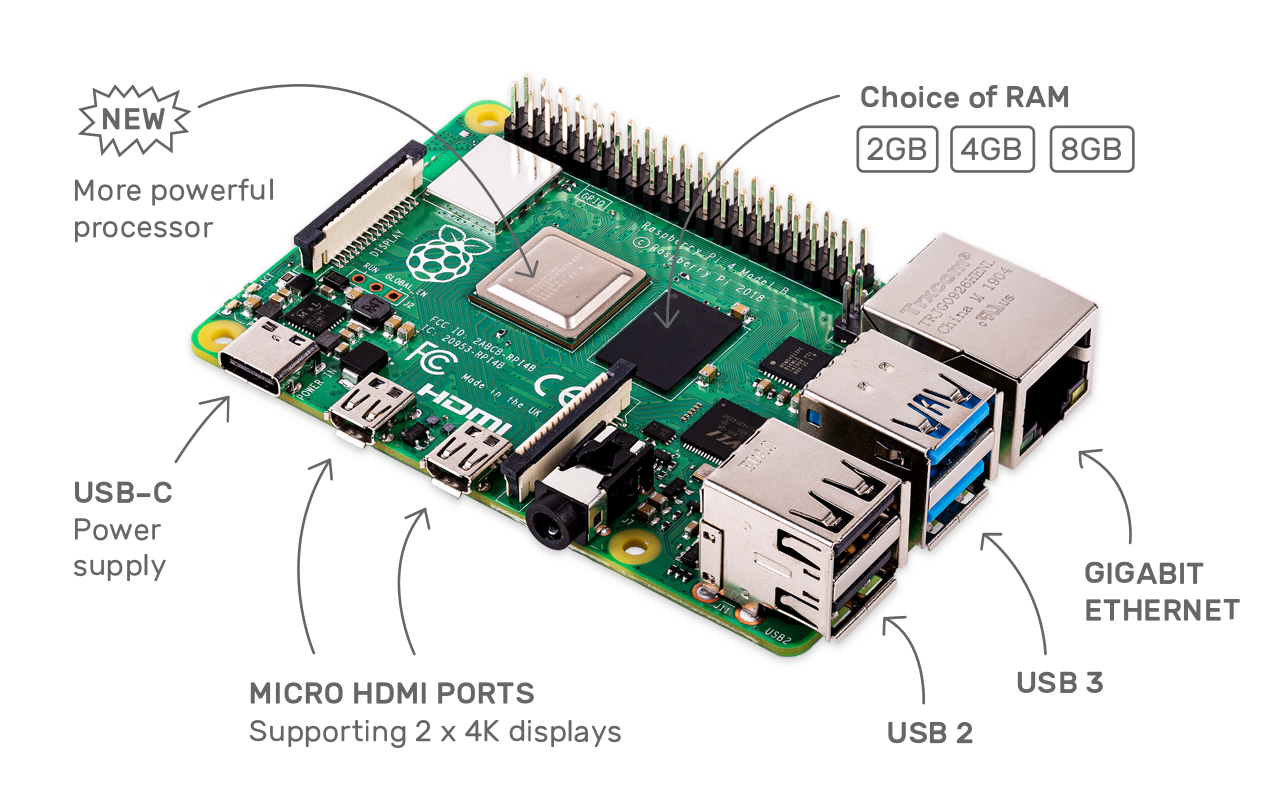 8GB Raspberry Pi 4 now available