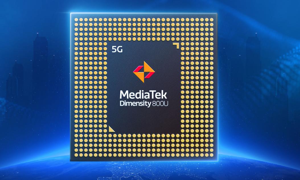 MediaTek unveils the Dimensity 800U, another mid-range 5G chip for smartphones