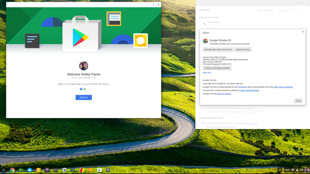 Acer Chromebook R13: Google Play Store available on the Beta channel