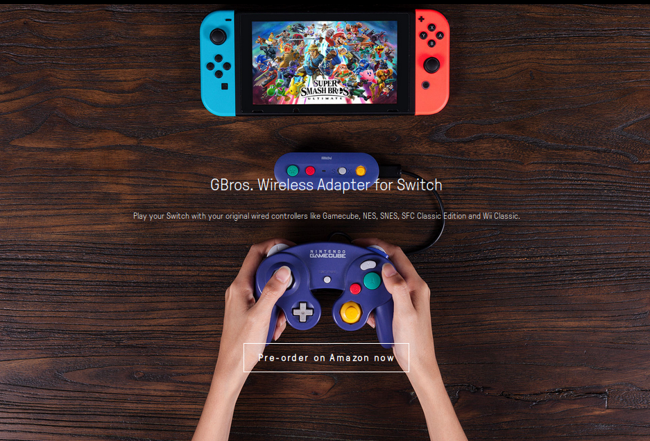New adapter from 8BitDo wirelessly connects a Gamecube controller to