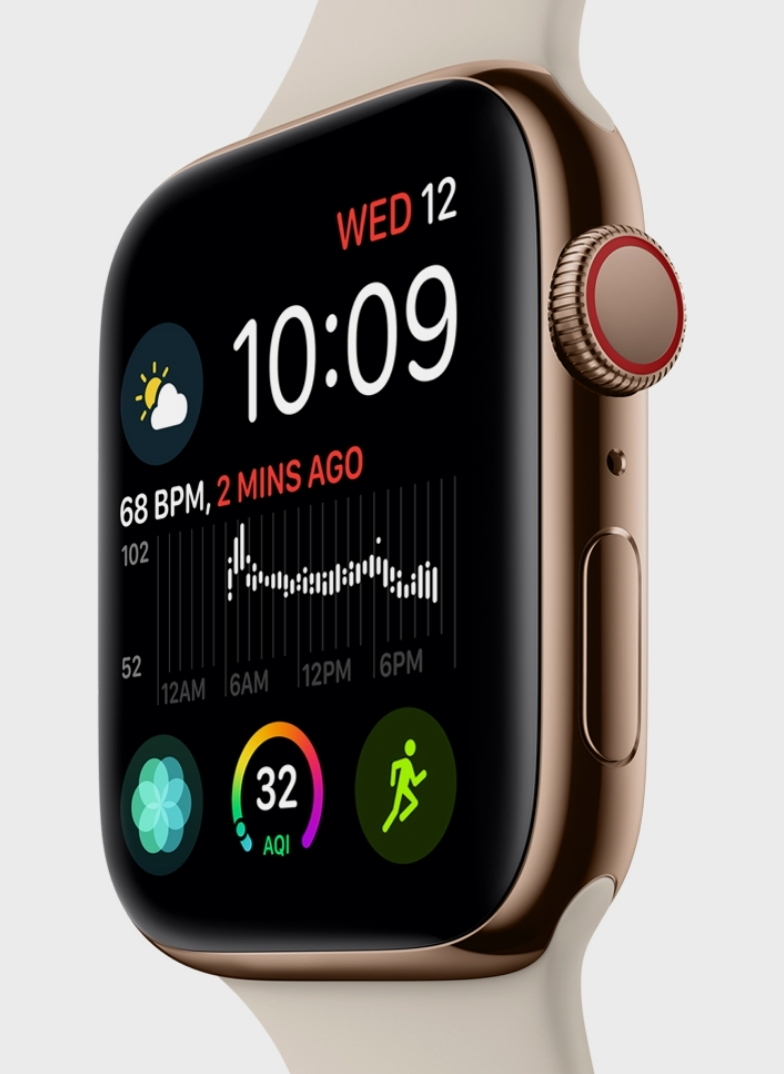 New Apple Watch Series 4 is a full redesign and features an
