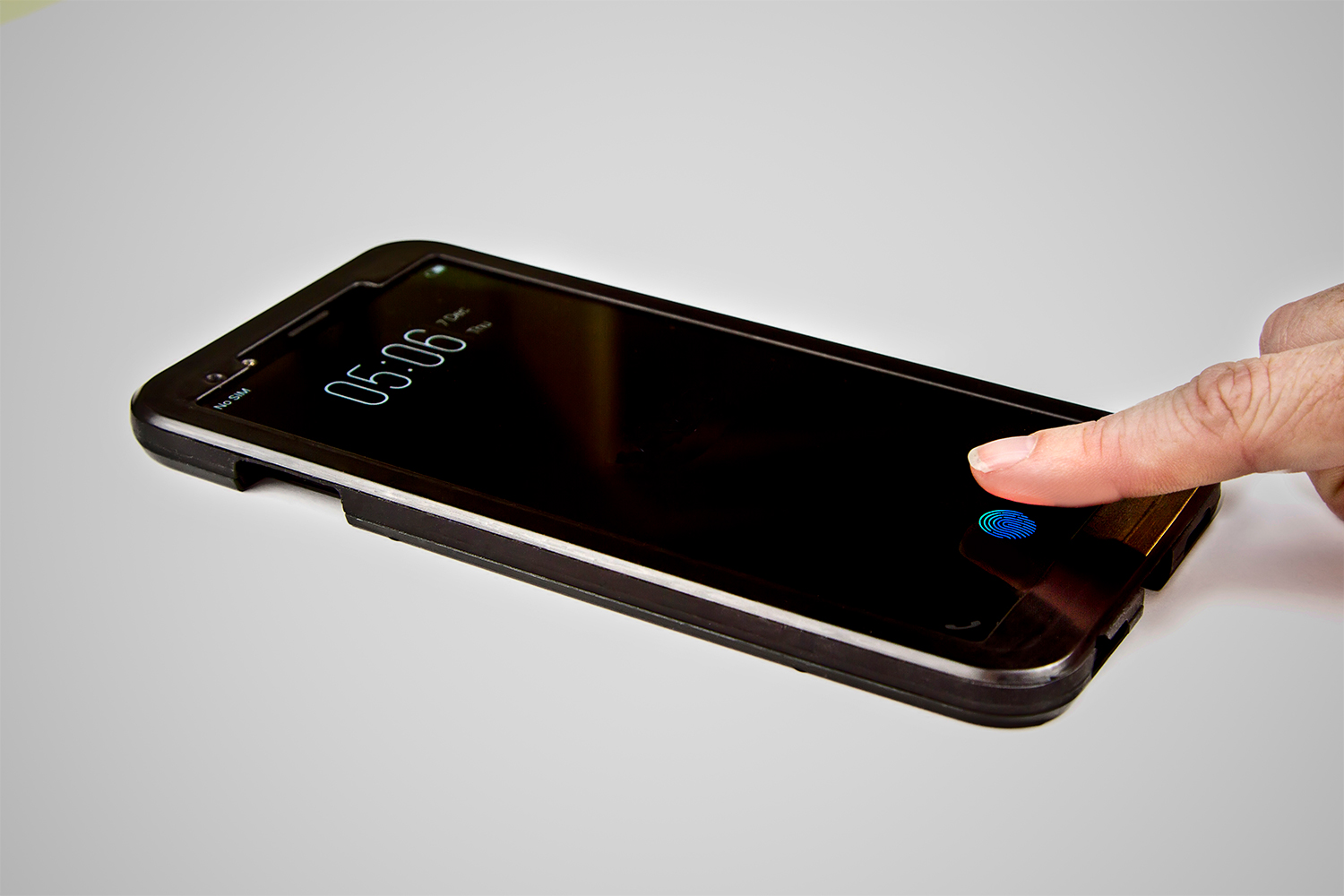 Display Fingerprint Sensor Soon To Be A Reality