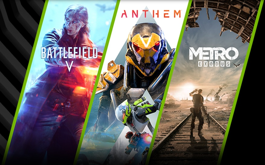 Nvidia's Triple Threat Bundle offers Battlefield V, Anthem, and/or