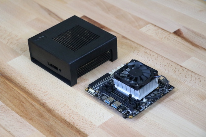 UDOO BOLT single-board computer with embedded Ryzen SoC