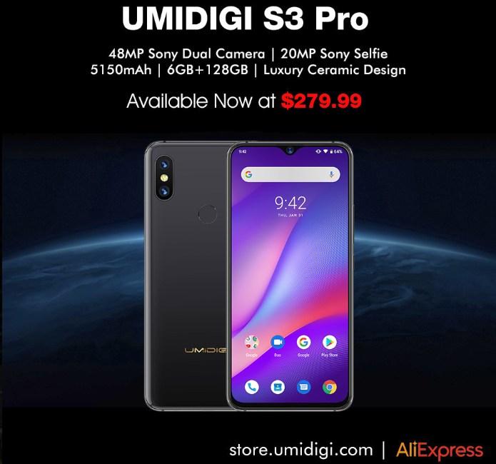 Umidigi One Pro Pie Update