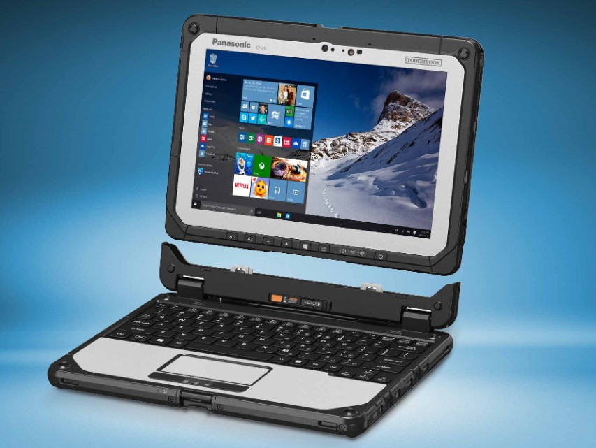 Panasonic Updates Detachable 2 In 1 Toughbook Cf 20 With