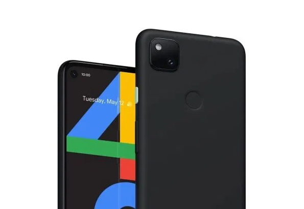 The marketing render of the Pixel 4a that Google Canada published last month. (Image source: Google Canada)