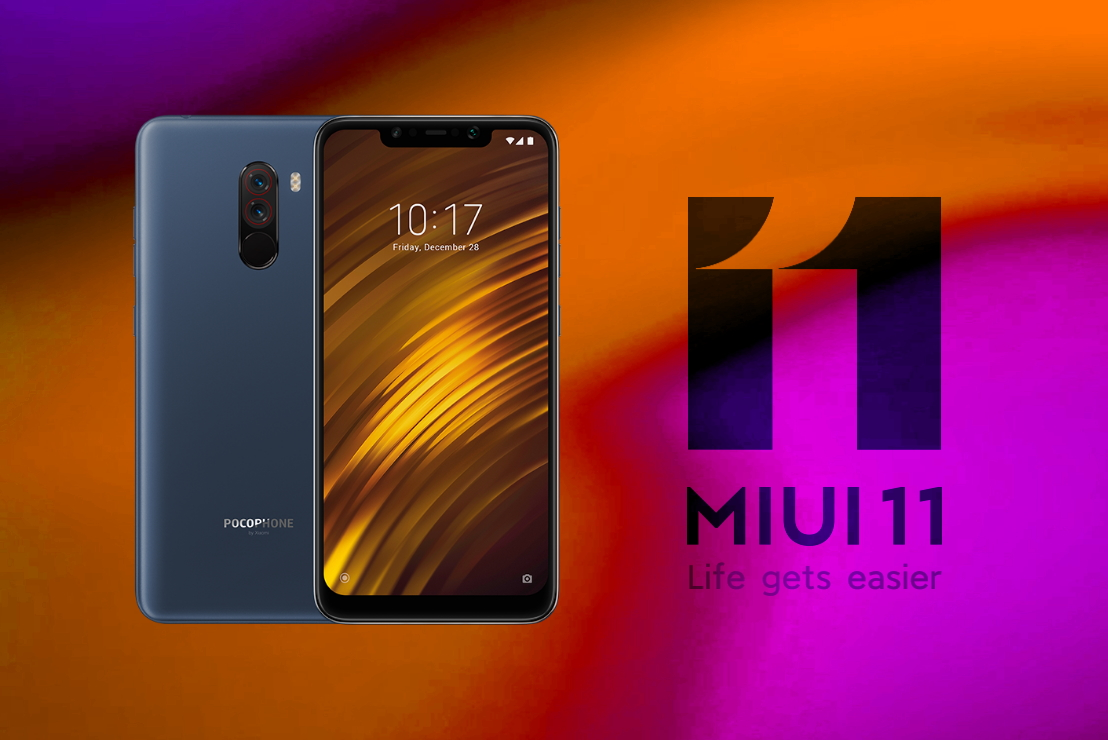 MIUI 11 с Android 10 на Pocophone F1