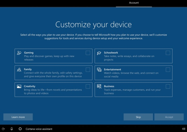 Microsoft Revamping the Windows 10 Setup Process with Windows 10X Improvements