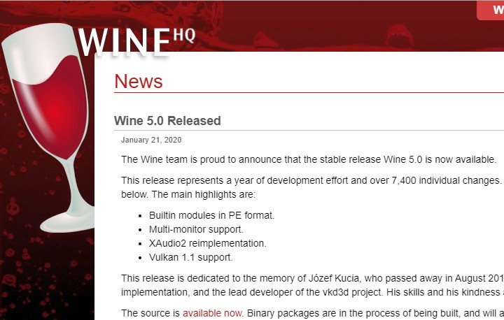 How to Install Wine 5.0 on CentOS, RHEL and Fedora