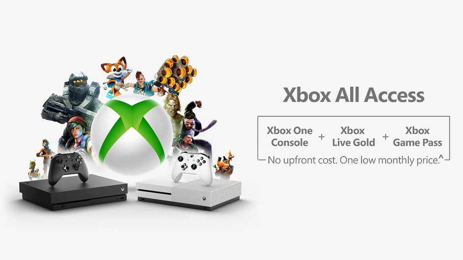 Microsoft Reveals Xbox All Access Subscription