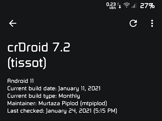 Android 11 on the Xiaomi Mi A1 via crDroid: Probably the best ROM for this handset so far - Notebookcheck.net