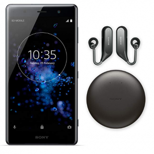 64b6abdfb0b Sony's XZ2 Premium is shipping with free Ear Duo headphones for pre-orders.  (