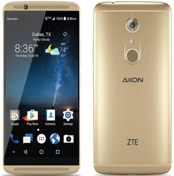 max zte axon pro android 7 statements are