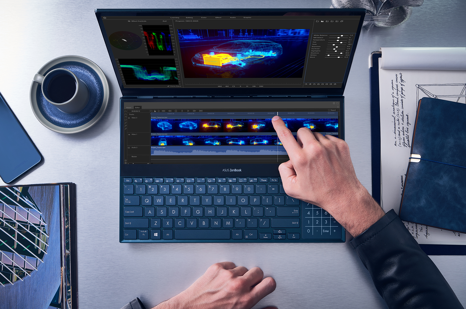 The Asus ZenBook Pro Duo looks to offer a more productive alternative to the MacBook Pro's Touch Bar - NotebookCheck.net News