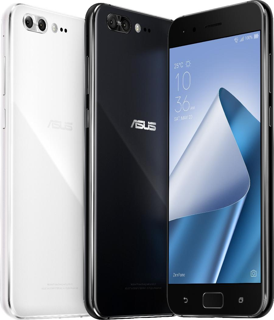 Asus' new ZenFone 4 series has dual cameras all around