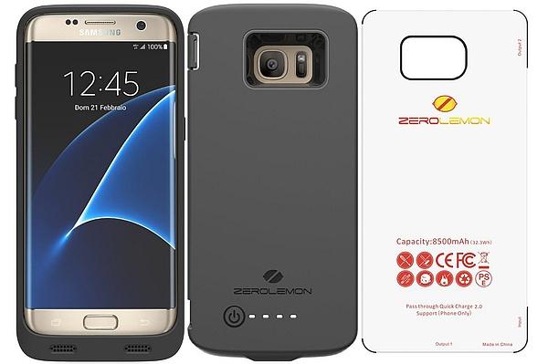 pretty nice 21457 c9f13 Samsung Galaxy S7 Edge gets 8500 mAh battery case from ZeroLemon ...