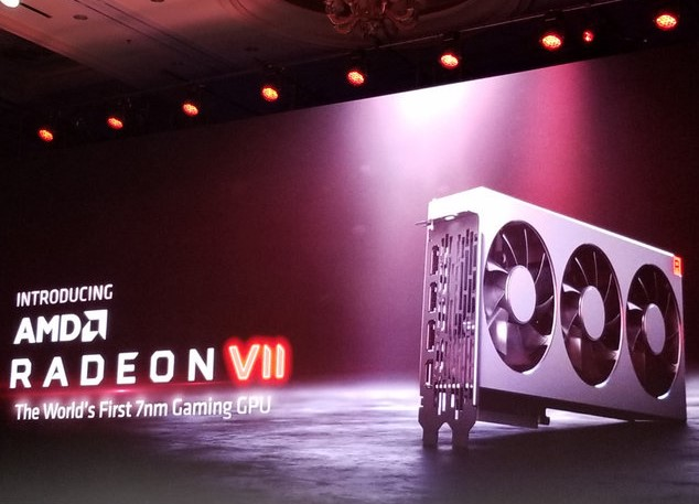 AMD officially unveils the 7 nm Radeon VII high-end gaming GPUs