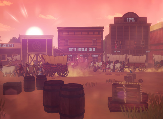 The Oregon Trail is the latest title from Gameloft Studios. (Image: Gameloft)