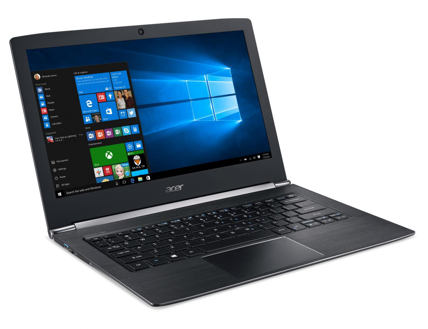 acer unveils ultra slim aspire s13 notebook news. Black Bedroom Furniture Sets. Home Design Ideas