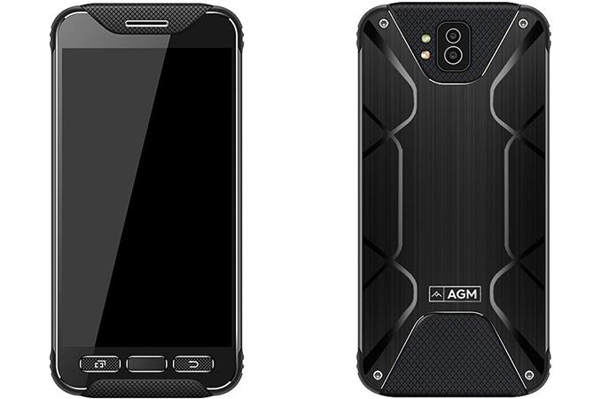 Agm Preparing Ruggedized Smartphone