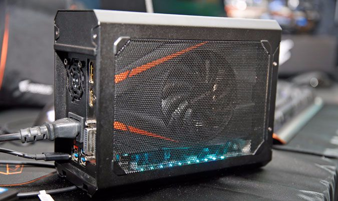 Aorus Releases Compact Egpu Complete With A Mini Gtx 1070