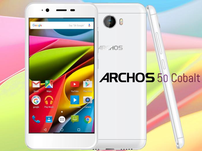 archos 50 cobalt smartphone available for 130 euros news. Black Bedroom Furniture Sets. Home Design Ideas