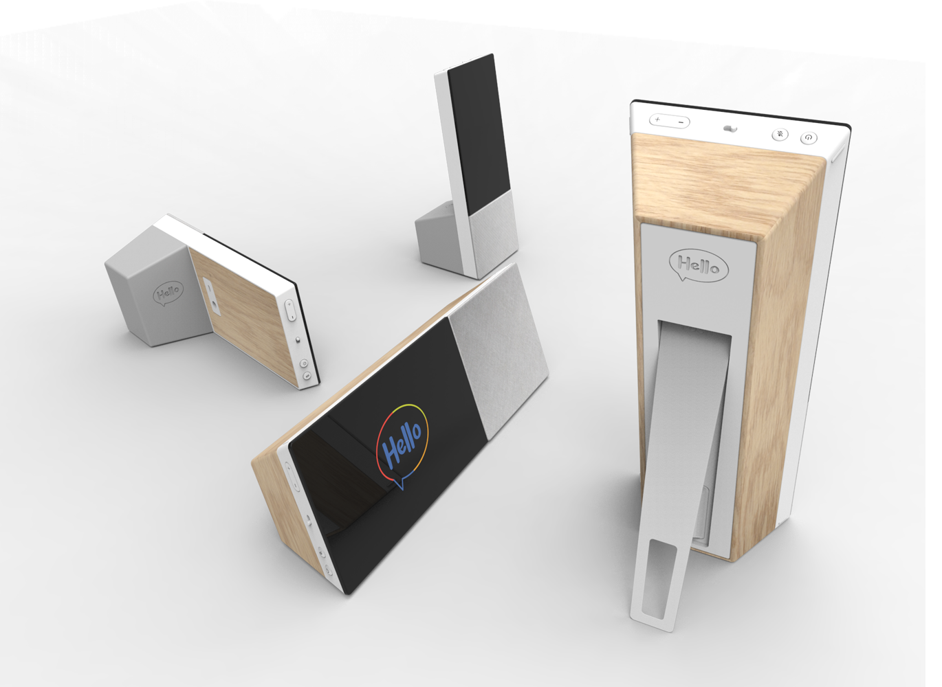 Archos presents hello portable smart home display with google archos has presented hello a portable smart display running google assistant in two stopboris Choice Image