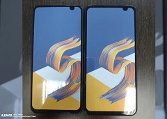 Putative ZenFone 6 screen prototypes. (Source: SlashLeaks)