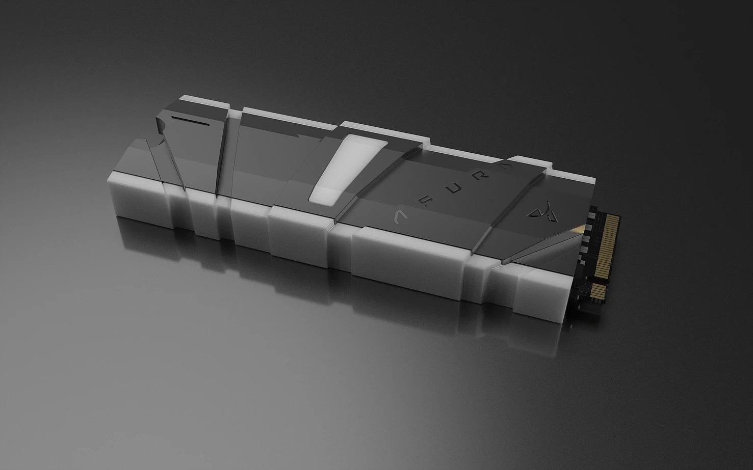 Asura Genesis Xtreme High Performance 1TB Gaming PCIe Gen 3.0 x4 3D TLC NVMe M.2