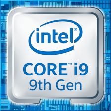 The Core i9-9900K is about 10 to 15 percent slower on laptops