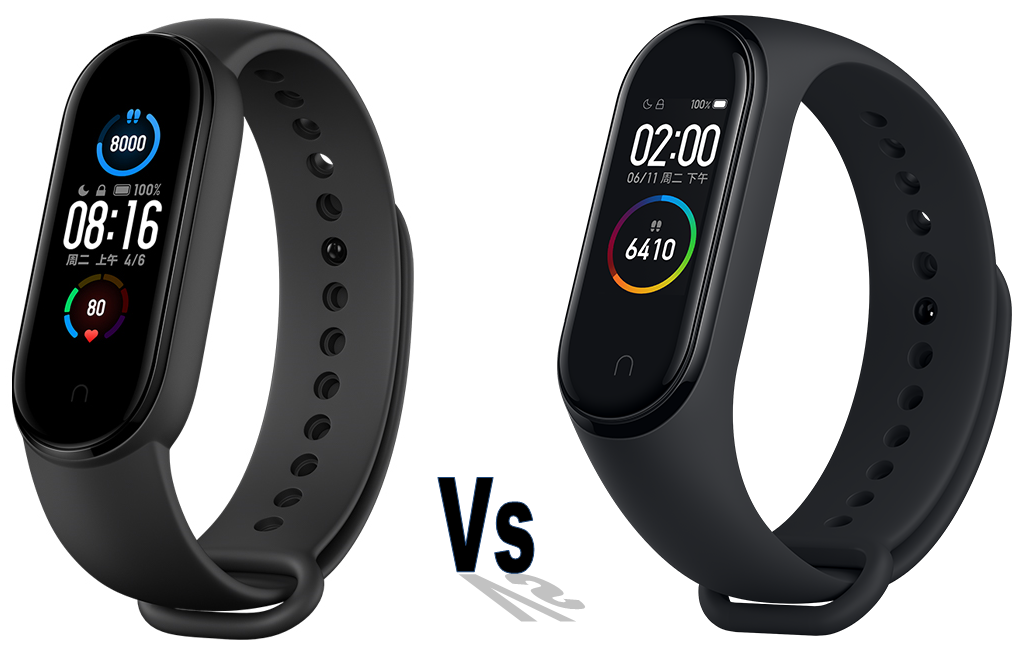Xiaomi Mi Band 5 Vs Mi Band 4 Comparison Xiaomi S Latest Fitness Tracker Brings More Features More Themes More Exercise Modes And More Value Notebookcheck Net News