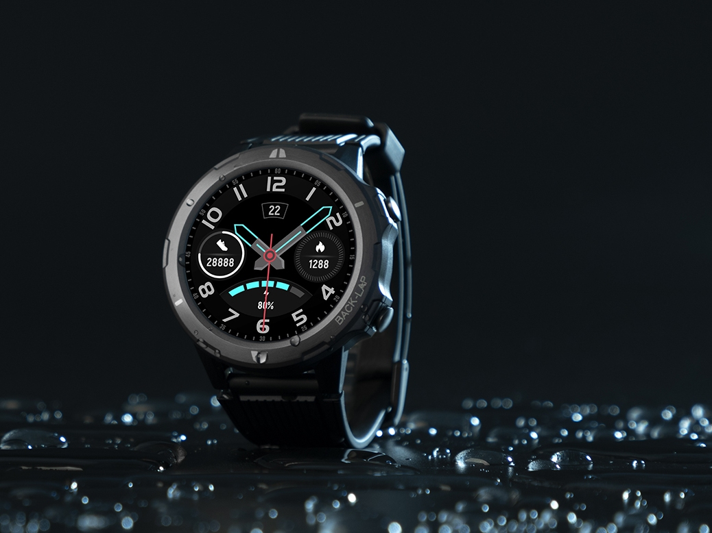 Umidigi Uwatch GT smartwatch with heart rate monitor and Bluetooth ...