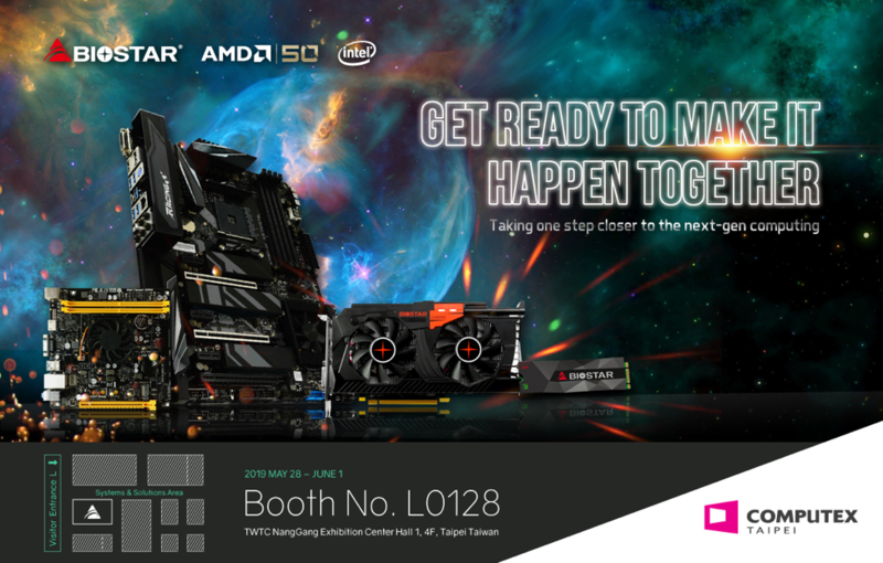 Biostar and ASRock tease Ryzen 3000 X570 motherboards for a Computex