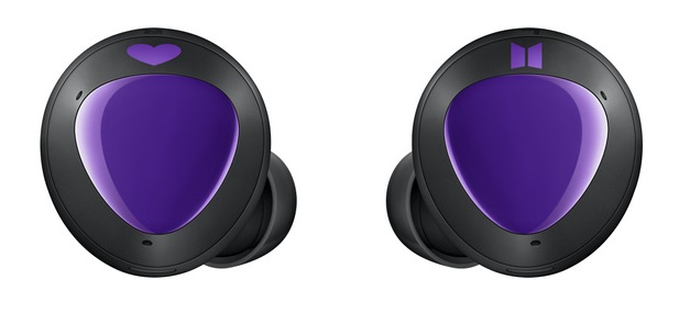 New Samsung Galaxy Buds Renders Leak Purple Bts Edition Of The Tws Buds For K Pop Fans But Still No Galaxy Buds X In Sight Notebookcheck Net News