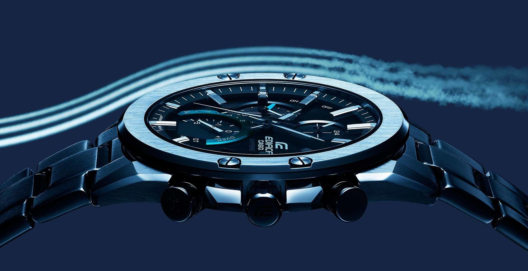 The slimmest new Casio EDIFICE watch is also a Bluetooth device