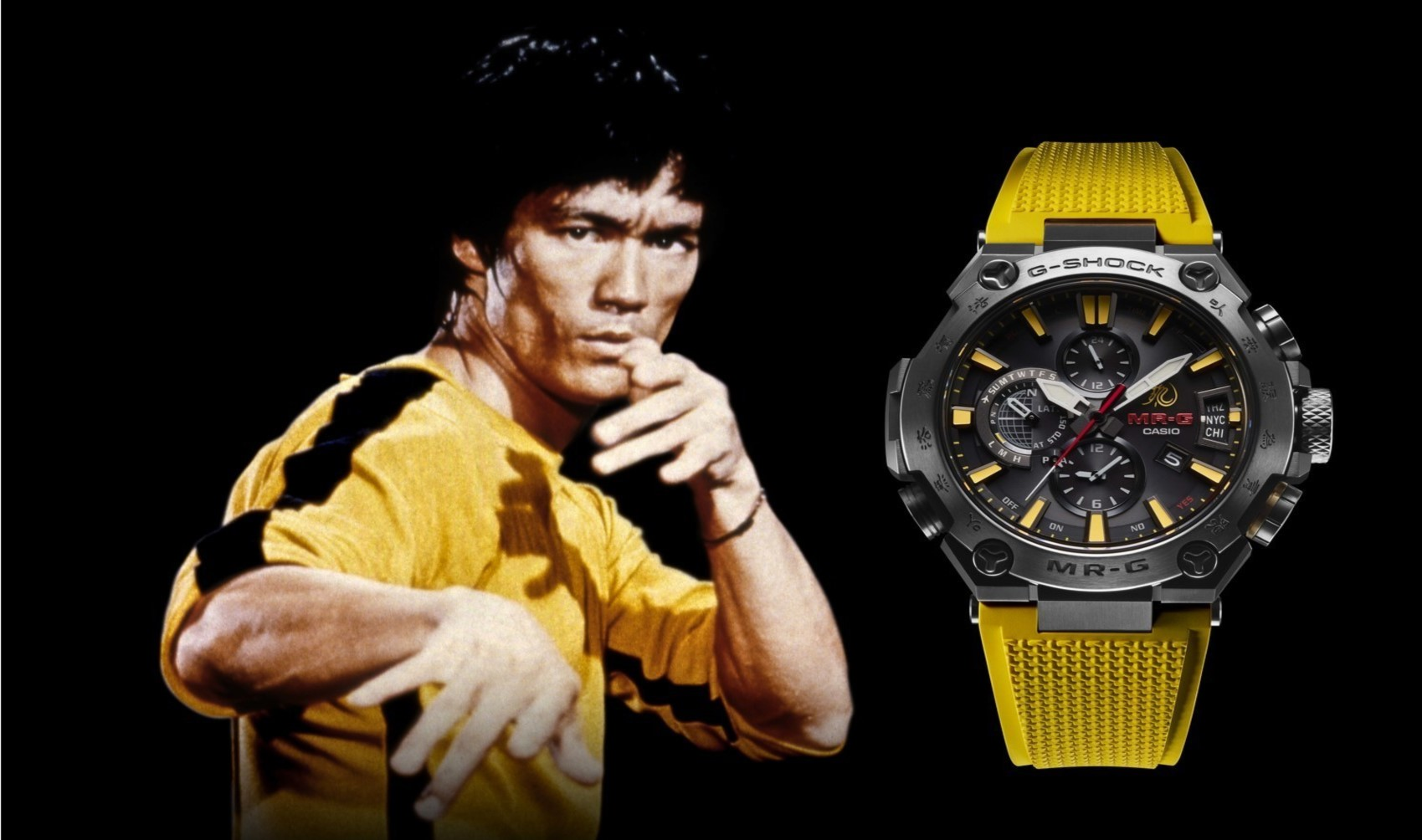 Image of article 'Casio honors a legend with its Bruce Lee-themed limited edition G-SHOCK'