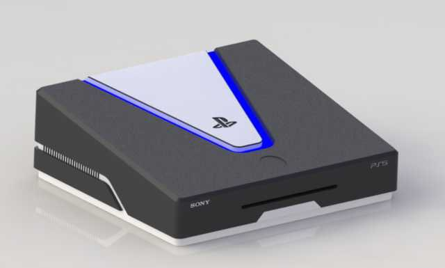 Latest Concept Ps5 Design Looks Like A Thick Door Wedge But Is More Realistic Than The Photoshopped Playstation 5 Shoe Box Doing The Rounds Again Notebookcheck Net News