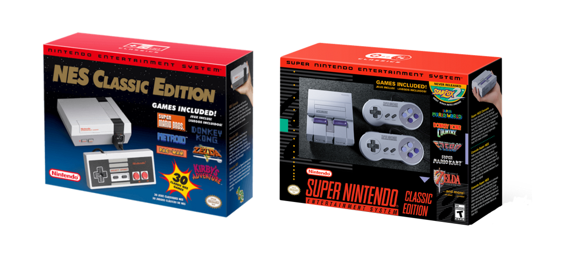 Nintendo has stopped producing its NES and SNES Classic