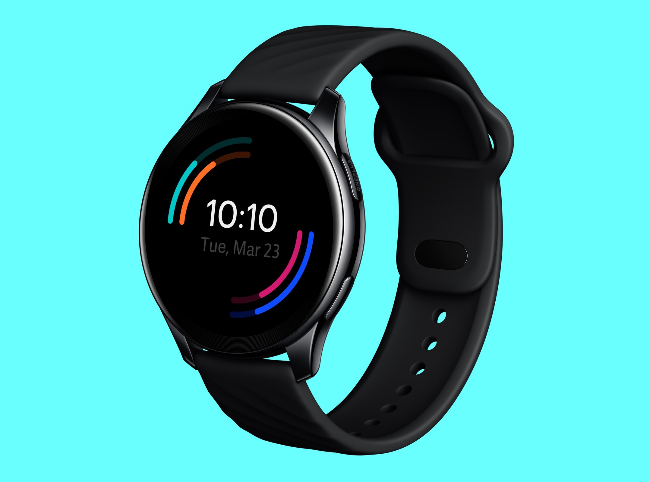 <p>The Initial OnePlus Watch marketing render arrives, and its looks like the Samsung Galaxy Watch Active 2 thumbnail