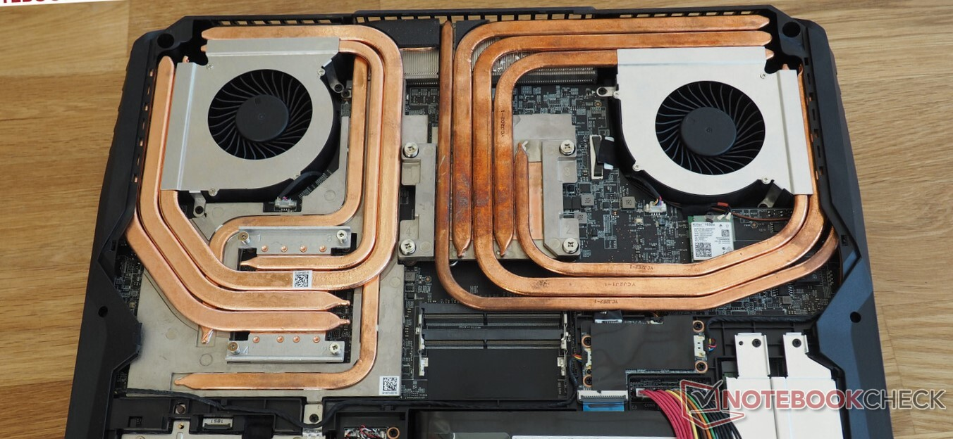 Laptops 101 Understanding What Goes Into Designing An Efficient Laptop Cooling Solution Notebookcheck Net
