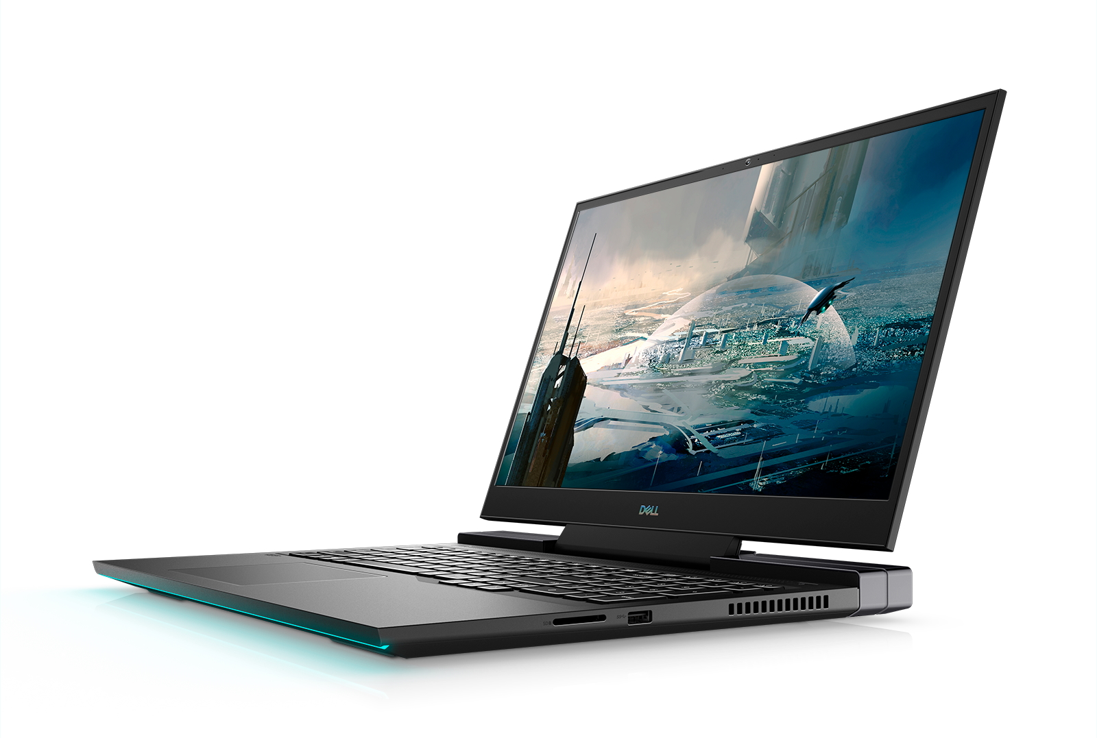 Dell G7 17 Powerful 17 Inch Gaming Laptop Receives An Eye Catching Redesign Up To A Core I9 10980hk Nvidia Geforce Rtx 2070 Max Q And Optional 300 Hz Ips Or 4k Oled Displays Available