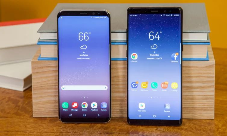 Android 10 galaxy s8