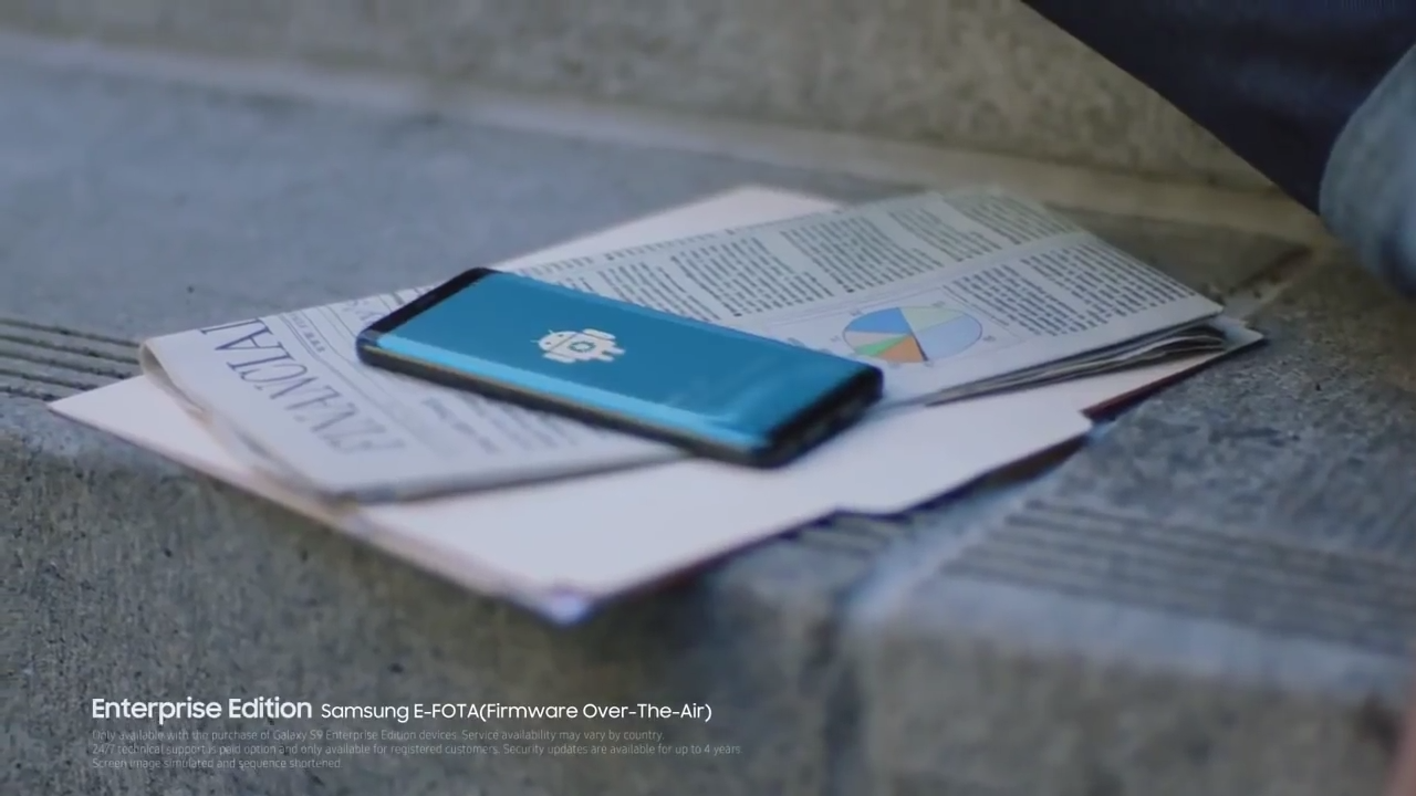 Launch video for Samsung Galaxy S9 leaks, reveals Enterprise