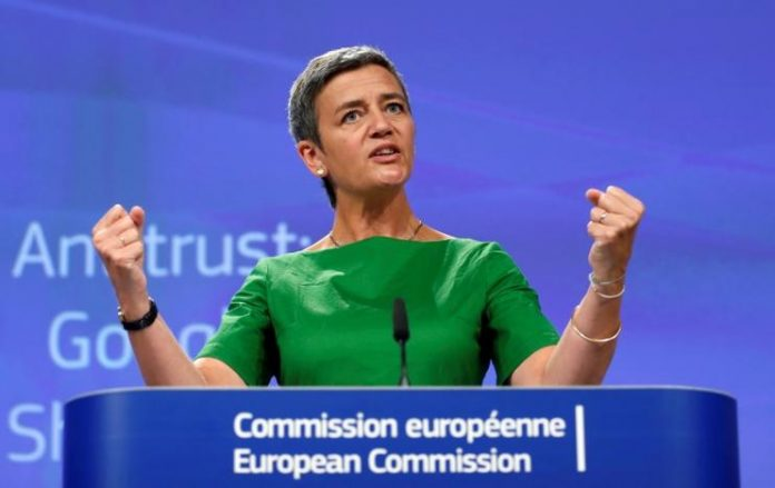 EU Commission Fines Google $1.7B For Violating Antitrust Rules
