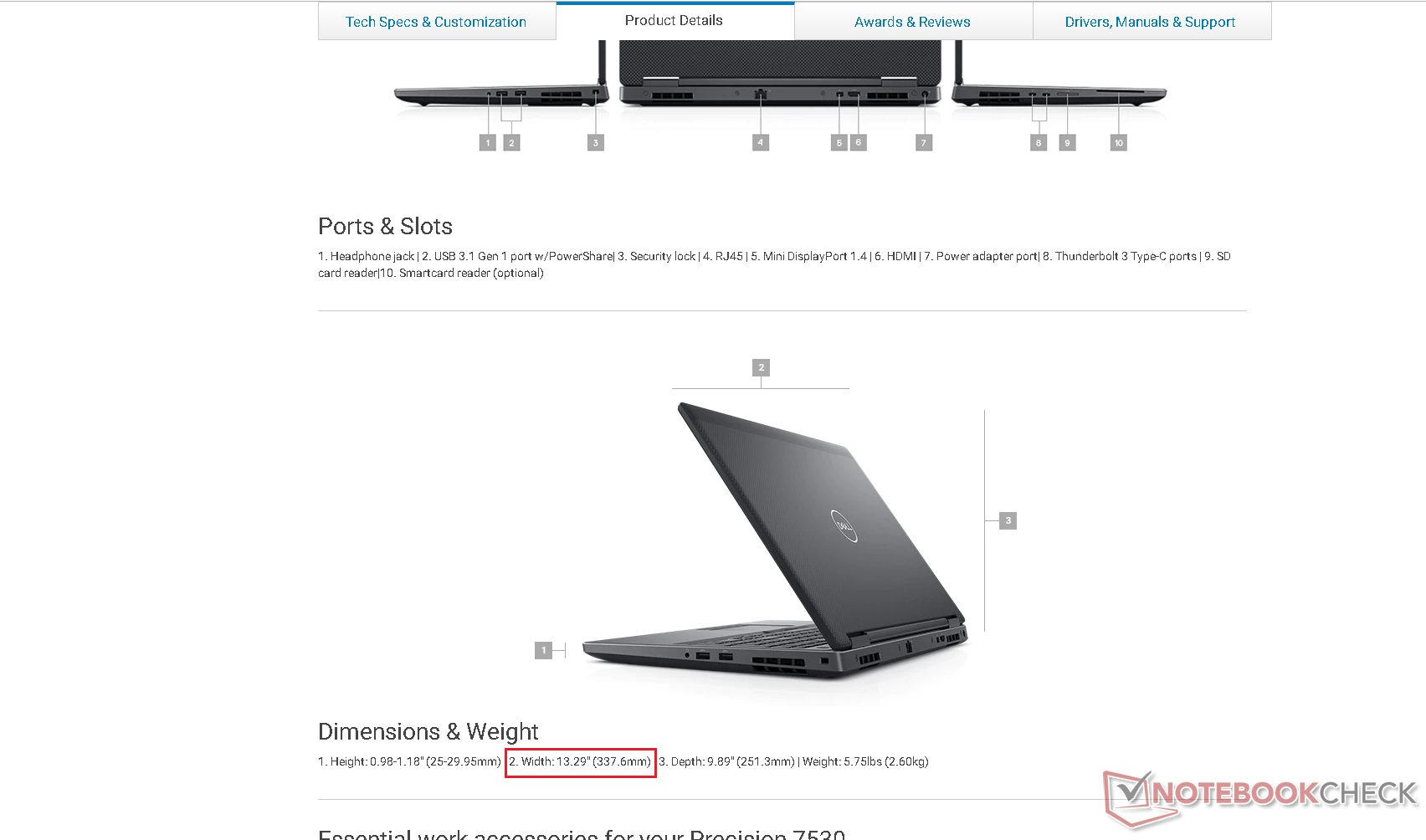 Dell accidentally lists laptop over an inch smaller, promises to fix