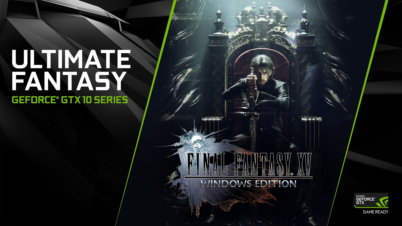 Final Fantasy Xv Royal Edition Hd Games 4k Wallpapers: Nvidia Release New GeForce Game Ready Driver For FFXV With