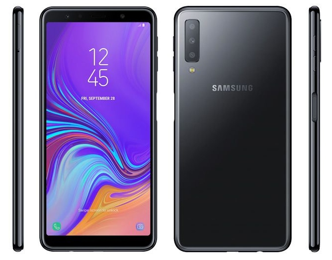 Samsung Galaxy J6 Plus revealed with a side-mounted fingerprint sensor
