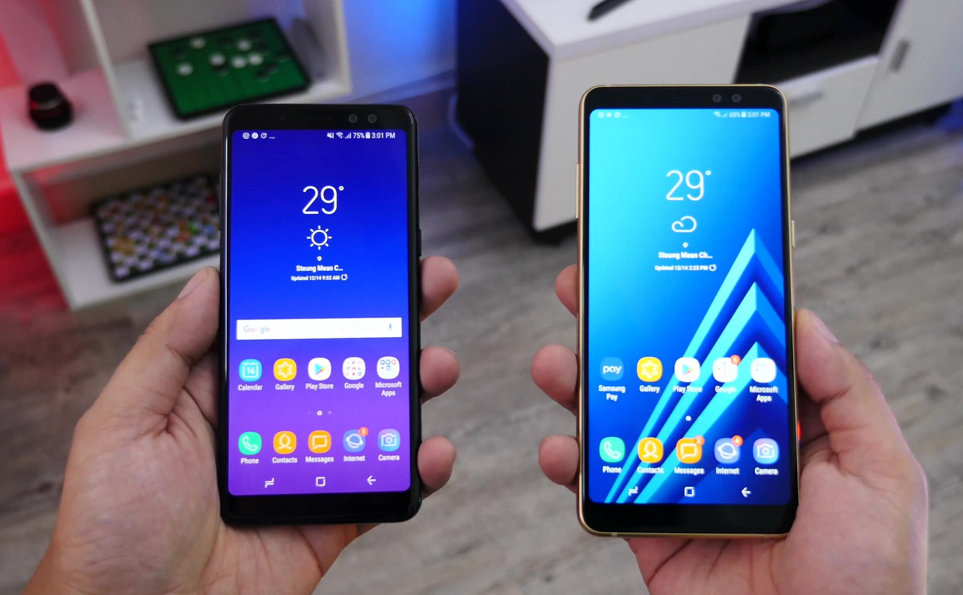 The Samsung Galaxy A6 and Galaxy A6+ coming later this ...